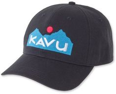 KAVU No Comb Required Cap Black