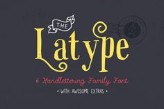 Popular Fonts ~ Page 12 ~ Creative Market