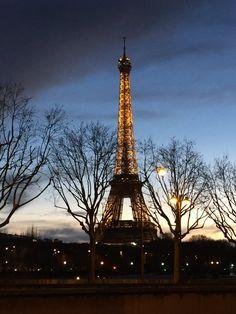 L'Hiver à Paris. Winter in Paris.