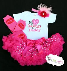 valentines outfit for alexie so cute