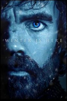 Winter is here_Game of Thrones. 7 season's poster