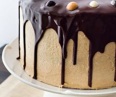 Chocolate Cake with Coffee Buttercream-for Cindy's birthday next month?