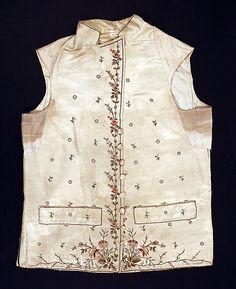 Metropolitan Museum: chaleco italiano de 1785-1800 (Inventario: 26.56.36)