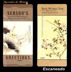 Dois Marcadores De Livro – Bookmark Season's 02. Frete Grátis - Carta Registrada