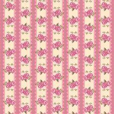 3502 - Listrado com Rosas