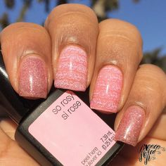 So Rosy gel color by SensatioNail: http://www.sensationail.com/p/colors/gel-color/so-rosy/ - BiancaNailedIt