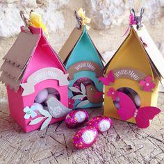 Stampin' Up! ® Demonstrator Sarah Lancaster | ORDER STAMPIN' UP! ONLINE 24/7 HERE: easter treat bird boxes | template