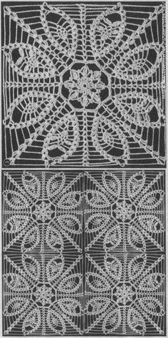 Patterns and motifs: Crocheted motif no. 1501