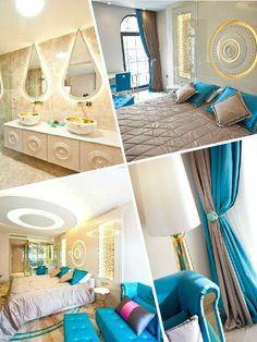 Turquoise Floor / Sura Design Hotel #surahotels #sultanahmet #Istanbul #turquoise #design #luxury #hotel