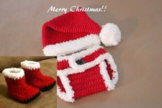 Uhm can we say HO HO HO! SO Cute! :D Baby's First Christmas Santa's Little Helper by TwinFlameBoutique