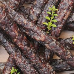 Droëwors - A South African dried sausage