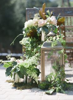 Natural and Whimsical Wedding Decor