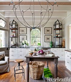 I don't want this exact kitchen, but something about it is so interesting to me... would love to make it apply...