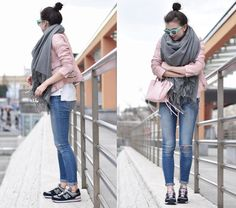 New Balance 574 New Balance 574, New Balance Sneakers, Keds, Abercrombie Fitch, My Outfit, Bomber Jacket, Girly, Normcore, Comfy