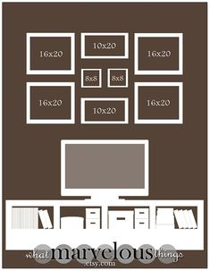 "I need to re-vamp my family photo wall..... need ideas! Photo Wall Display Templates - ""Magnolia Crescent"" by tameka"