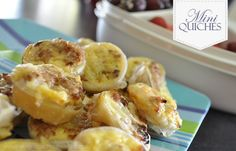 These Cheese and Bacon Mini Quiches are perfect to make forparties, when you have friends over for morning tea or lunch or cold in the kids lunch boxes. They are really easy to make and fuss free.Cut circles of puff pastry, use a cutter that is 1cm bigger than mini mufifn pan hole (as pictured…
