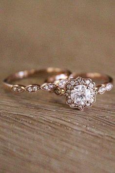 Stargaze Ring Princess Cut White Diamond Symmetrical Cluster Ring