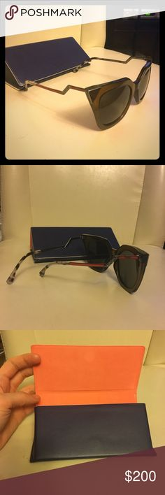 Sunnies Fashionable Fendi sunglasses to enjoy anywhere anytime ad only worn few times Fendi Accessories Sunglasses