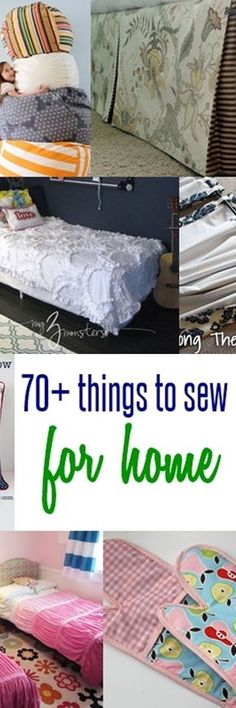 70 Things to Sew for Home (Sewing Ideas) & 70 Things to Sew for Home (Sewing Ideas) | Pinterest | Sewing ...