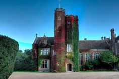 """By John Norton, for Sir Alexander Acland Hood, Baronet. """"A big leathery Tudor-Gothic house in the Pugin tradition."""" (Girouard) Now a wedding venue. Victorian Castle, English Manor Houses, Gothic House, Cute Wedding Ideas, Park Weddings, Cool Photos, Amazing Photos, Somerset, Wedding Venues"""