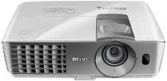 """BenQ W1070 1080P 3D Home Theater Projector (Silver). Enjoy 1080p Full-HD image projection up to 200"""" in the comfort of your living room.  Price: $999.00"""