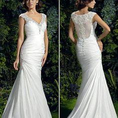 Brand new Wedding dress fits like 12 Fit Flare/Trumpet Dresses Wedding