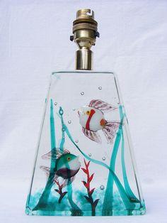 "Murano - Cenedese ""Aquarium"" glass lamp | Flickr - Photo Sharing!"