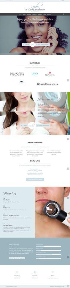 Dermatologist Website  Website Design and Development by 1 Day Web (http://www.1daywebs.com/)