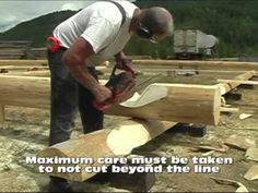▶ Log Homes & Cabins-Layout & Scribing 4 of 4.mp4 - YouTube