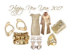 """HAPPY NEW YEAR 2017"" by michelle858 ❤ liked on Polyvore featuring Adrianna Papell, Valentino, Anndra Neen, Dolce&Gabbana, Oscar de la Renta, Jade Jagger and Fernando Jorge"