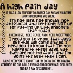 818 Best Quotes About Chronic Pain And Chronic Illness Images In