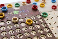 Calendar Design, Wood Projects, Diy, Calendar, Bricolage, Do It Yourself, Wood Working, Homemade, Diys