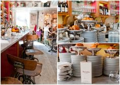 Here, the portions are miniature-sized, the seats are tiny, and the gaps between tables are impossibly narrow. Adding to the restaurant's charm are its Provençal details, like wooden wine crates, earthenware pottery, and eclectic wall décor, all haphazardly assembled in the most perfect way.