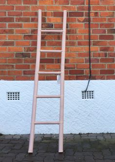 Pink bamboo ladder. #placesandgraces #collection #bamboo #ladder #pink