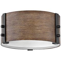 Sawyer Outdoor Flush Mount Ceiling Light by Hinkley Lighting - Color: Brown - Finish: Sequoia - Outdoor Ceiling Lights, Outdoor Post Lights, Led Ceiling, Outdoor Lighting, Iron Rust, Rust 2, Lighthouse Lamp, Outdoor Flush Mounts, Hinkley Lighting