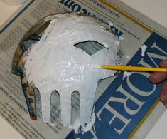 paper mache tutorial. explains how to make a paper mache project correctly and provides different ideas for things to make.