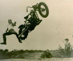 This is how I want to get off my motorcycle.