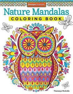 Nature Mandalas Coloring Book (Pocket)
