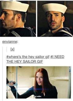 Hey sailor. ;D