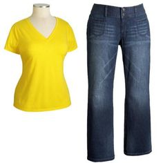 Jeans For Apple Body Type | Styles for apple body types
