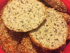 Super lækre Low-Carb sandwich-/burgerboller med hytteost og kokosfibre