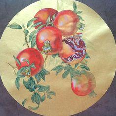 Pomegranate от PomegranateArtMaria на Etsy