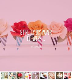 9 #Pretty DIY Paper Flowers ... - DIY