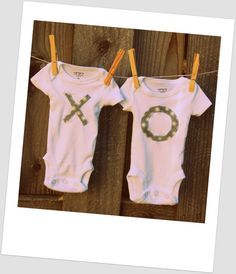 20 Most Adorable Twin Onesies from Etsy #twins We probably need all of these. Yes, I'm that mom.