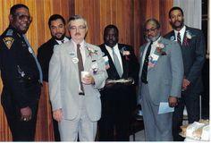 Dr. David M. Carnrike with city leaders in Mobile, AL