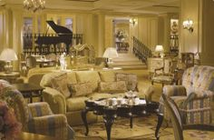 Davenport Lounge.  Ritz Carlton, New Orleans. Like walking into a 1950s movie set.  Great jazz on the weekends.