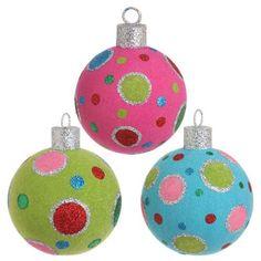 cool color ornaments