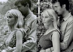Tuesday Weld Facebook:  Tuesday Weld & Tony Perkins in Pretty Poison (left) Emma Jacobs & James D'Arcy in the short 'Dreams Never End' (right)  What a loving homage...