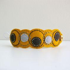 Bracelet feutrine