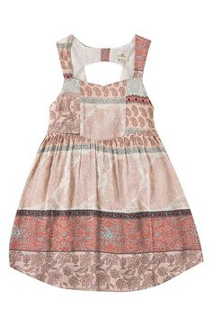 Free shipping and returns on O'Neill 'Peri' Paisley Print Dress (Big Girls) at…